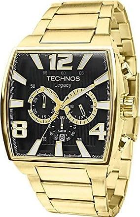 Technos Relógio Masculino Technos Analógico Dourado JS25AR/1D