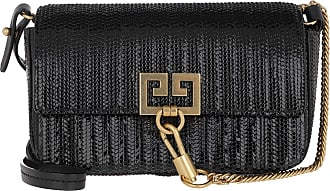 Givenchy Cross Body Bags - Snake Effect Mini Pocket Bag Leather Black - black - Cross Body Bags for ladies