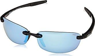 8690065267 Revo Revo Descend E RE 4060 01 BL Polarized Rectangular Sunglasses
