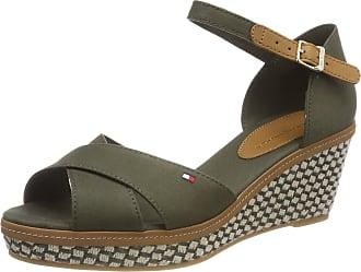 d0cf77ef2b7 Tommy Hilfiger Womens Iconic Elba Sandal Basic Ankle Strap