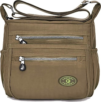 GFM Womens Nylon Waterproof Cross Body Shoulder Bag (88) (S5-735-HLKEK)