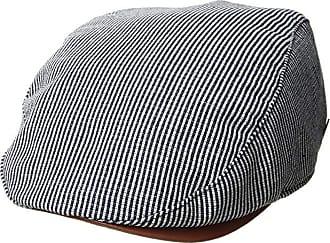 99586f15959a63 San Diego Hat Company SDH3323 - Linen Blend Stripe Driver (Navy) Caps