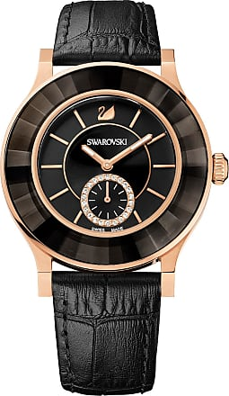 Swarovski Relógio Octea Classica Ouro Rosa, Black