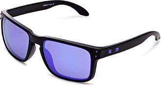 Oakley Holbrook Sunglasses, Matte Black/Violet Iridium, One Size