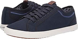 Ben Sherman Mens Chandler Lo Sneaker, Navy Ripstop, 8 M US
