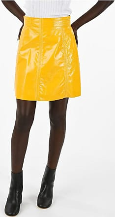 Drome Leather Midi Skirt size S