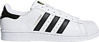adidas Originals Mens Superstar Casual Sneaker, White/Black, 8.5 M US
