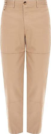 Lanvin Cotton Trousers Mens Beige