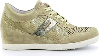Igi & Co Womens Mesh Suede Mink Sneaker Beige Size: 8 UK