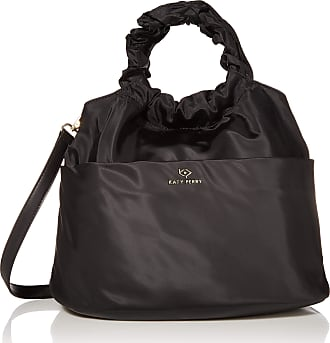Katy Perry Womens Puffer Top Handle Bag, Black, One size