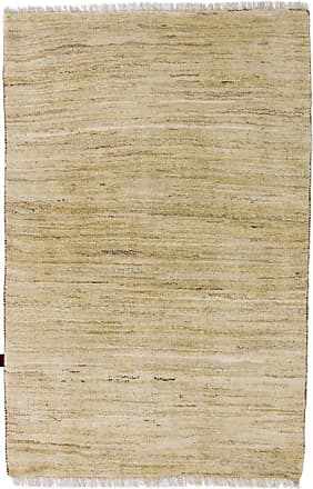 Nain Trading 187x126 Persian Gabbeh Natural Rug Beige (Iran/Persia, Wool, Hand-Knotted)