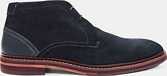 Ted Baker Suede Ankle Boots in Dark Blue DELIGH, Mens Accessories