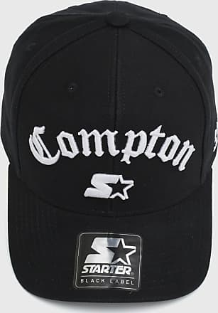 Starter Boné Starter Snap Compton Label Preto