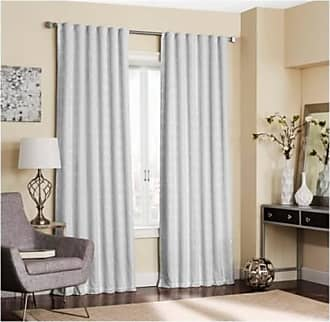 Eclipse Adalyn Blackout Curtain - White - Size:52x84