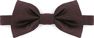 Dolce & Gabbana Gravata borboleta de seda - Vermelho