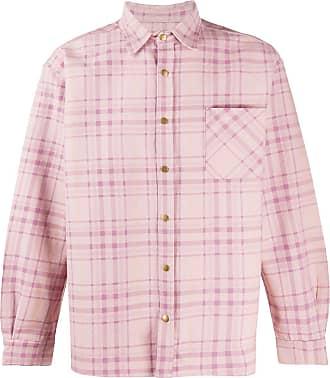 Noon Goons Camisa jeans Snap - Rosa