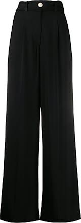 Iro Hastro wide-leg trousers - Black