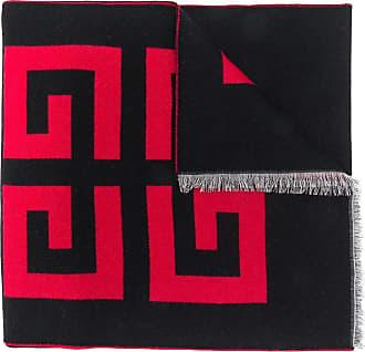 Givenchy Echarpe com logo estampado - Preto
