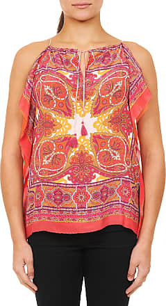 Robert Graham Womens Ona Ona Top In Coral Size: XS by Robert Graham