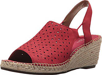 99412082951 Clarks Womens Petrina Gail Platform red Nubuck 12 Medium US
