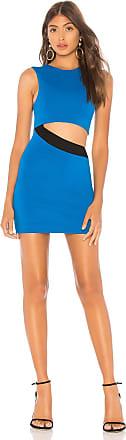 NBD Ca Va Mini Dress in Blue