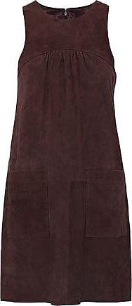 Joie Joie Woman Fahfia C Suede Mini Dress Chocolate Size XS