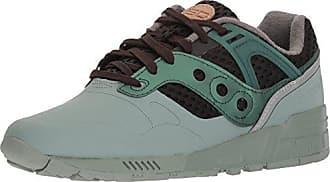 san francisco 4aec2 c4b3c Saucony Originals Mens Grid SD HT Running Shoe, Green Black, 10.5 Medium US