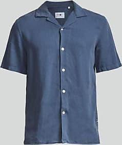 Nn.07 Miyagi Shirt in gewaschener Marine - XL