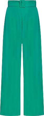 Market 33 Calça Pantalona - Verde