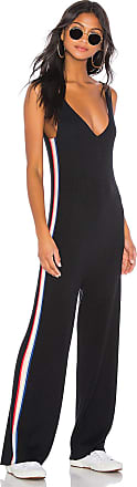 Spiritual Gangster Stripe Jumpsuit in Black