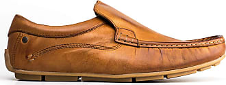 Base London Heritage Mens Casual Leather Loafer Tan UK Size 9