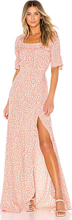 Flynn Skye Kalani Maxi Dress in Peach