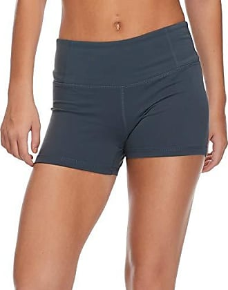 Body Glove Active Womens GET Shorty Performance FIT Activewear Short, Charcoal, Small