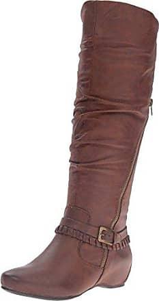 7f14f94f257 BareTraps Womens Bt Shania Riding Boot Brush Brown 8 US 8 M US