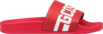 GCDS Slides Logo Unisex Mod. CC94U010216 Red Size: 8.5 UK