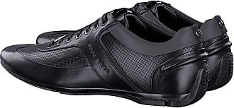d75c58a2d BOSS Hugo Boss Men Mercedes F1 formula 1 blue leather driving shoe trainer  Sporty Lowp Mbpr