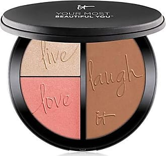 IT Cosmetics Your Most Beautiful You Anti-Aging Matte Bronzer, Radiance Luminizer & Brightening Blush Palette