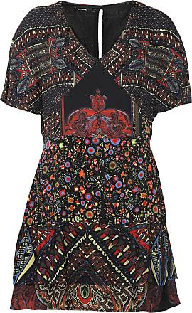 Desigual Vestido Desigual Curto Gina Preto/Vermelho