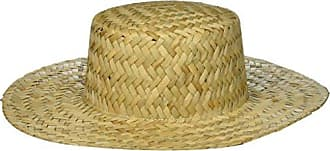 ále by Alessandra Womens Remy Woven Straw Boater Sunhat Packable & Adjustable, Natural, One Size