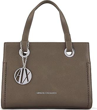 A X Armani Exchange Womens handbag dove grey with shoulder strap and internal pockets. 942270 CC723. BIOSABORSE