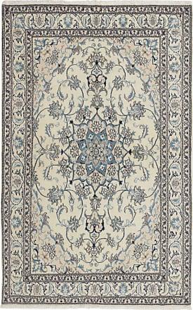 Nain Trading 241x164 Tappeto Nain Grigio Scuro/Beige (Lana / Seta, Persia/Iran, Annodato a mano)