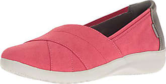 Rockport Womens Emalyn Slip-on Flat, Coral, 5 M US