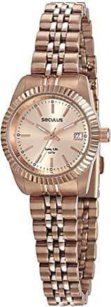 Seculus Relógio Seculus Feminino Ref: 77043lpsvra1 Clássico Rosé