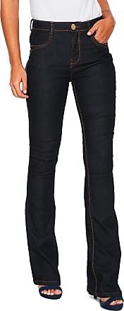 Dimy Calça Jeans dimy Flare Azul