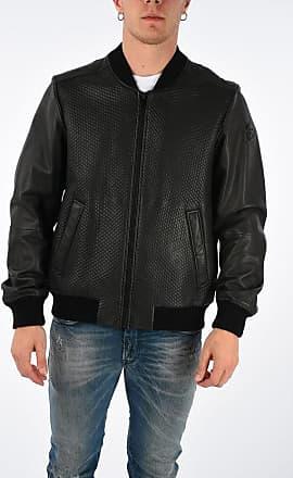 Diesel Leather L-NEWBON Jacket size L