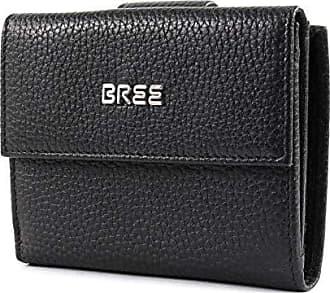 ff8a1538ea8512 Bree Collection Damen Nola New 104, Black, Combi. Purse Gra. Geldbörse,