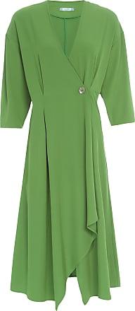 Colcci Vestido Shock Midi - Verde