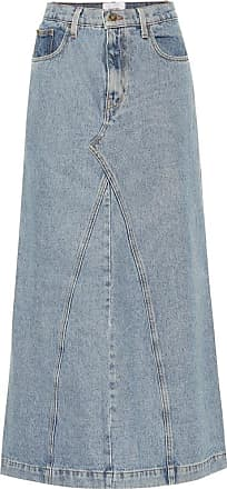 Nanushka Mae denim skirt