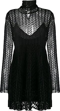 Philosophy di Lorenzo Serafini mesh layered mini dress - Black