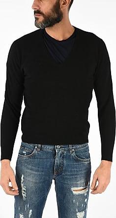 Prada Virgin Wool V Neck Sweater size 46